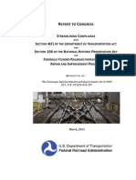 Report to Congress on Historic Preservation