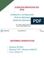 01 Instalacion y Configuracion IPv6