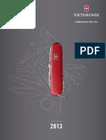 Victorinox Catalogue 2013 English