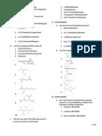 Nomenclature - Prob Set