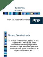Teoria Das Normas Constitucionais