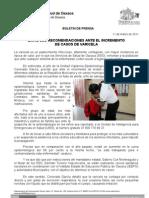 11/03/11 Germán Tenorio Vasconcelos Emite SSO Recomendaciones Ante El Incremento de Casos de Varicela