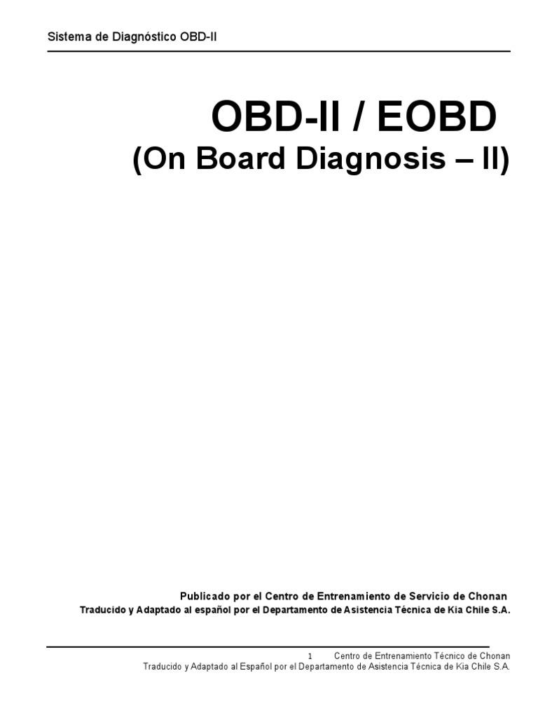 OBD-II EOBD EN ESPAÑOL