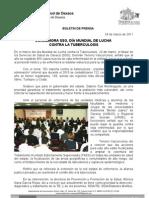 24/03/11 Germán Tenorio Vasconcelos Conmemora SSO Dia Mundial de Lucha Contra La Tuberculosis