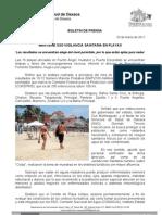 29/03/11 Germán Tenorio Vasconcelos mantiene Sso Vigilancia Sanitaria en Playas