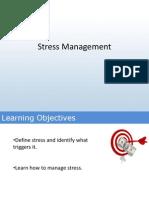 2. Stress Management