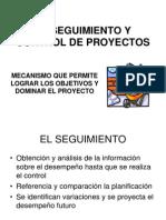 TRES - EL SEGUIMIENTO Y CONTROL DE PROYECTOS AGOSTO 2007.ppt