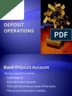 Deposit Operations