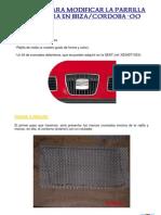 Manual Para Modificar La Parrilla Delantera Seat Cordoba-ibiza 00 Por Kuickly
