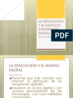 La Educacion y El Nativo Digital