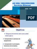 Optix OSN1500&2500&3500 Servícios Ethernet Final