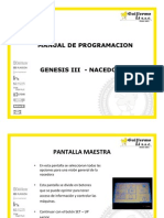 Manual Programacion Nacedora