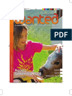 Wanted Magazine Augost 08 Tourist guide Italy