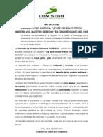 NP VI-2013 COMISEDH inicia campaña de la Ley de Consulta Previa en cinco regiones del país