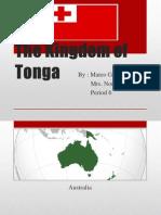 the kingdom of       tonga