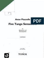 Astor Piazzolla - Five Tango Sensations