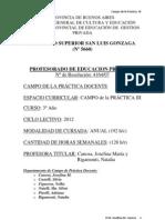 PROYECTO Campo de la Práctica Docente III