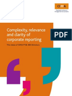 Complexity, Relevance Clarity of Reporting0905cimastudy