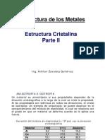 Tema 2B Estructura Cristalina 2013