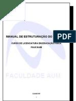 Manual de Estagio - Educação Física