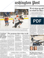 The Washington Post 2011.04.21