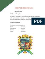Descripcion de Huac-huas