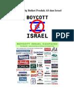 Boikot Produk as Dan Israel