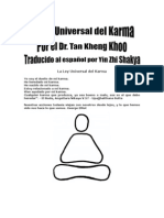 The Universal Law of Karma Spanish