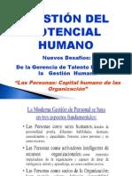 CONCEPTO DE GESTION DE POTENCIAL HUMANO