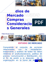 LOGISTICA ESTUDIO DE MERCADOS (VI)