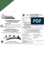 Bulletin Inscription AAPEI Courses de Strasbourg 2009