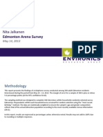 Environics - Edmonton Arena Survey - May 2013