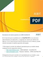 Actualización Software AIRIS OnePAD 970