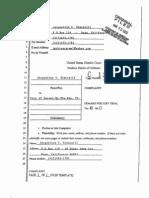 Simonelli Plaintiff v. City of Carmel Defendant COMPLAINT CASE No. 3 13 Cv 1250 LB Filed 03-20-13