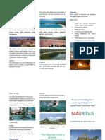 Triptico Mauritius