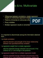 Econometrics - Bivariate Regression Slideshow