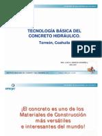 07 TECNOLOGIA Del ConcretoTorreon