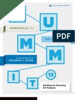 SEA Summit2013 Program Book Web