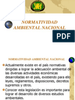 2. Normatividad Ambiental Nacional