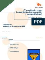 Jornada Ecodiseno Aplicae Innovacion r