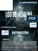 Uso Adecuado de Insulinas