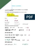 Resumen Ec y Logaritmicas