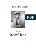 Pondering the Worth of a Roof Rat