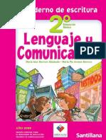 2º Lenguaje y Comunicacion Cuaderno de Escritura