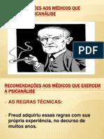 RECOMENDAÇÕES AOS MÉDICOS QUE EXERCEM A PSICANÁLISE [Salvo automaticamente]