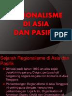 Regionalisme Di Asia