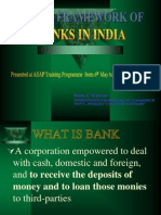 Legal Framework of Banks in India