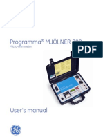 Mjölner 200 User's manual