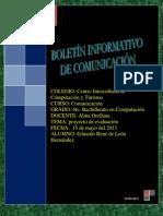Boletin de Comunicacion