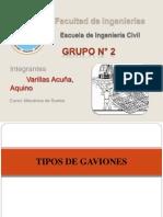 Tipos de Gaviones